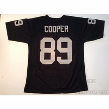 Mens Amari Cooper Stitched Name Number Throwback font b Football b font Jerseys UNSIGNED NO LOGOS