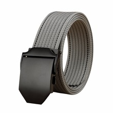 Automatic Buckle Belt Casual Style Tactical Nylon Belt