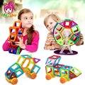 Mylitdear 86 unids mini magnética diseñador creador juguetes 3d diy bloques de construcción de ladrillos de juguetes para los niños juguetes