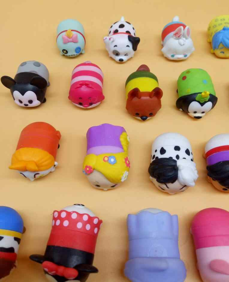 Nova 20 pçs/set diferente 3.8 CENTÍMETROS Tsum Tsum Mickey Winnie Pato Donald Brinquedos Boneca Elf Bonito Banho Brinquedo Juguetes Para chirldren Presente