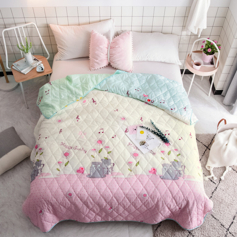 Summer Quilt 100*150 150*200 180*220 200*230 Home Textiles Suitable For Children Kids Adult Blanket Comforter Free Shipping