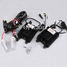 75W AC 12V HID Replacement Headlights HID Xenon Conversion Kit H11 4300K