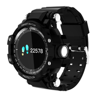 2018 Nieuwe GW68 Smart Horloge Outdoor Sport Klok Waterdichte IP67 Hartslagmeter Bluetooth 4.0 Voor IOS Android Telefoon Smartwatch