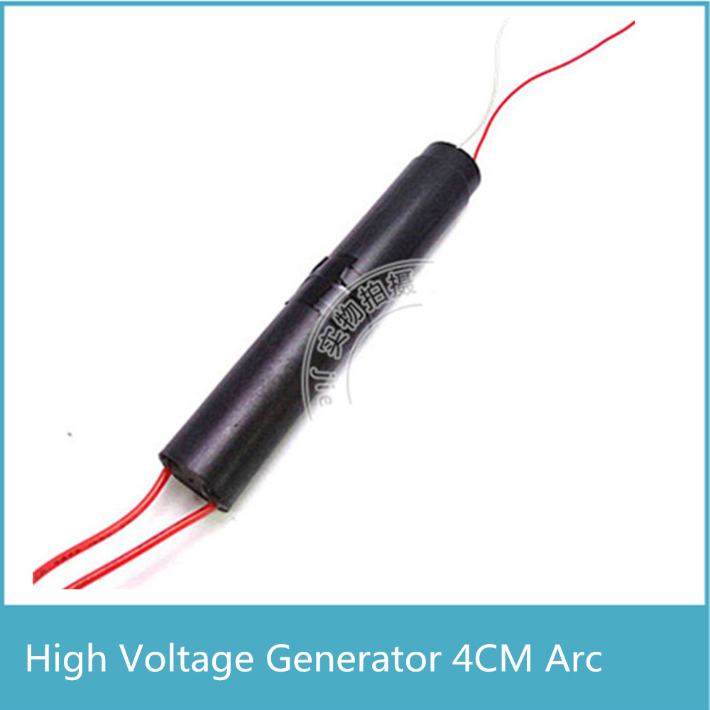 High Quality 4cm Voltage Arc 800KV High Voltage Generator Pull Arc For 1 Minutes, Small Ultrathin Pulse DC High Voltage Module