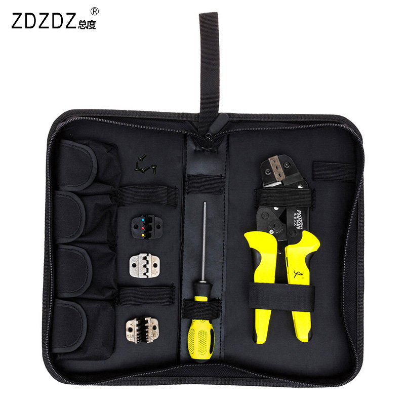 4 in 1 Wire Stripping Terminal Pliers Clamp Multi Tools Set Screwdriver Professional Instrument Crimping Pliers