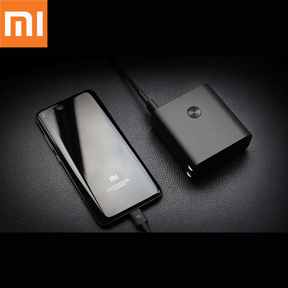 Original Xiaomi ZMI Power Bank wih Wall Charger 6500mAh Quick Charge 3.0 Two-Way Fast Charge 2-in-1 Portable Powerbank 4