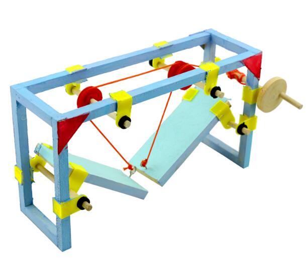 Lift Bridge Diy Kit Architectural Model Scientific Experimental Materials Assembly Model Educational Toys