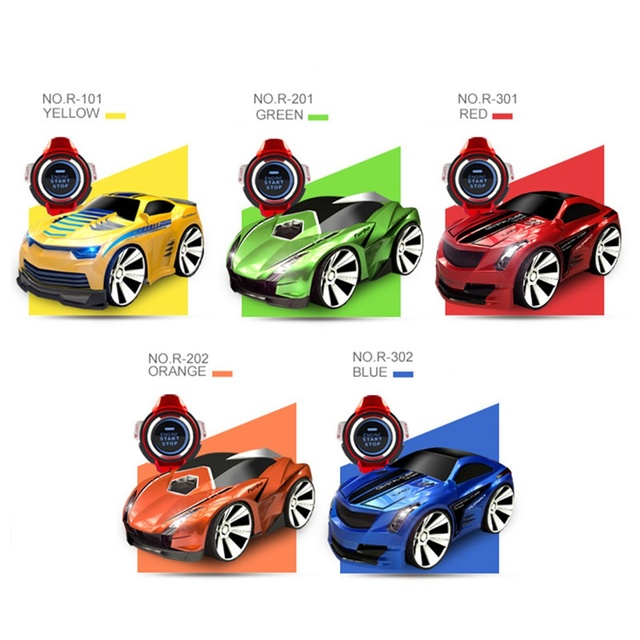 Aiboduo R103 Remote Control Car Racing Toy Car Voice Smart Watch Voice-Activated Watch Rechargeable Radio Drift RC Car Electric