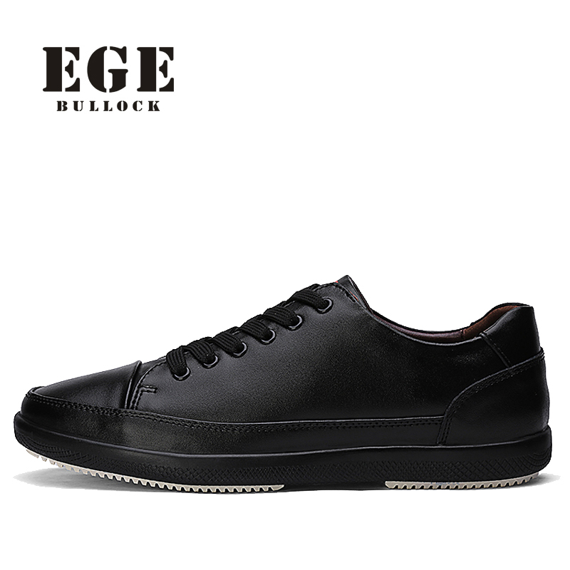 Brand Men Casual Shoes Genuine Cow Leather New Arrival Waterproof Lace up Male Flats Classics Retro Black Men Shoes top brand high quality genuine leather casual men shoes cow suede comfortable loafers soft breathable shoes men flats warm