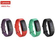 Новый оригинальный Lenovo HW01 плюс SmartBand браслет Mio Pai Системы браслет Blutooth4.2 сердечного ритма Мониторы группа для iOS и Android