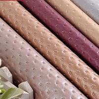 50x135cm Pvc Leather Waterproof Material Eco Leather Automotive Fabric Costura Seat Upholstery Fabric Tela Para Mueble