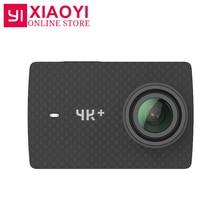 "Xiaoyi YI 4 K Artı Eylem Kamera Ambarella H2 4 K/60fps 12MP 155 Derece 2.19 ""HAM Uluslararası Xiaomi YI 4 K + Spor Kamera"