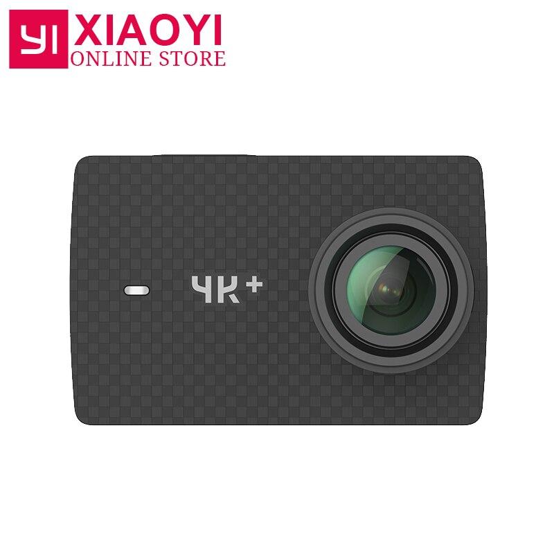"Xiaoyi YI 4K Plus Action Camera Ambarella H2 4K/60fps 12MP 155 Degree 2.19"" RAW International Xiaomi YI 4K+ Sports Camera"