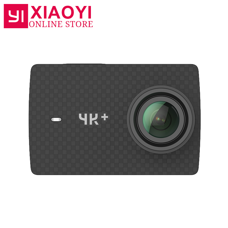 Xiaoyi Yi 4 К ПЛЮС Действие Камера Ambarella H2 4 К/60fps 12MP 155 градусов 2.19 сырье международных xiaomi Yi 4 К + спортивные Камера