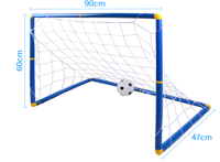 Free Shipping Soccer World Cup Toys Goal Toys for Children with A Football and Inflatable Pump Outdoor Fun & Sports