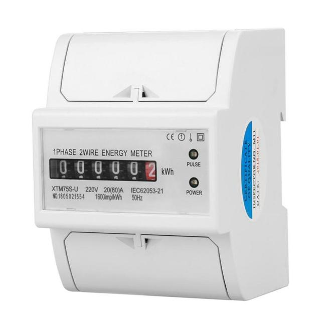 220V Digital 1 Phase 2 Wire 4P DIN Rail Electric Meter Din Rail Energy Meter Electronic_640x640 220v digital 1 phase 2 wire 4p din rail electric meter din rail
