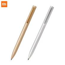 New Arrivel Original Xiaomi Mijia Metal Sign Pens MI Pens 0.5mm Signing Pens PREMEC Smooth Switzerland Refill MiKuni Japan Ink