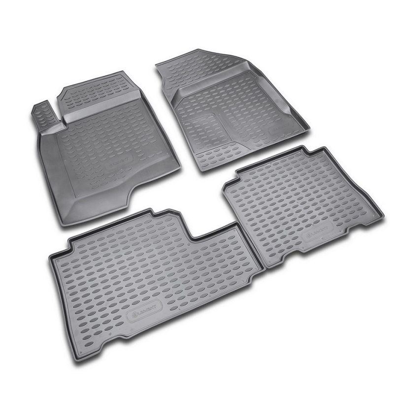 Mats in the salon For CHEVROLET Captiva 06/2006-2011, 4 PCs (polyurethane) mats in salon сртк chevrolet еpikа 09 rubber ch ep 06 10 g 02043
