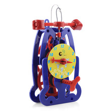 Clock Pendulum Experiment Science Kits Children Improving IQ Logical Thinkin Learn Educational Toys For Kids Gift Free Shipping(China)