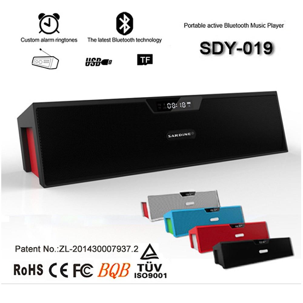 FM Radio Sound Box Audio Blutooth Som Mini Music LED Wireless Portable USB Bluetooth Speaker For Phone Portatil Hoparlor Player