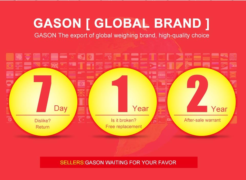 GASON A2 Bathroom Floor Body Scale Glass Smart Household Electronic Digital Weight Balance Bariatric LCD Display 180KG/50G 8