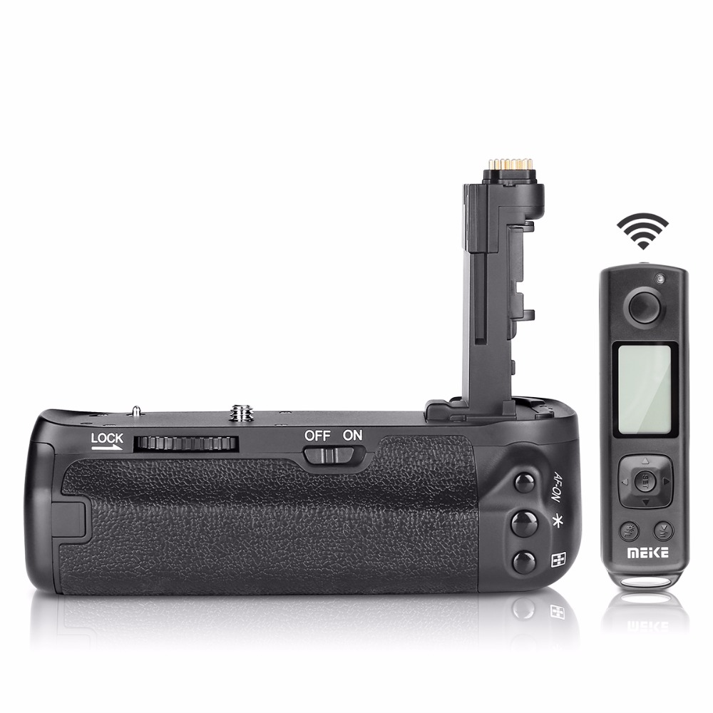 Meike MK-6D2 Pro  Battery Grip Built-in 2.4GHz Remote Controller to Control shooting Vertical-shooting Function for Canon 6D II
