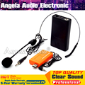 USB Receiver Headset Wireless Microphone System BodyPack Transmitter For Speaker Voice Amplifier Megaphone Computer Karaoke Mic