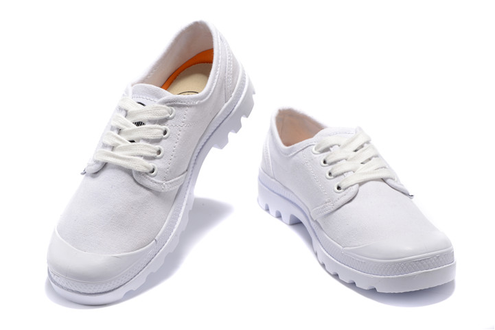 Appartements Pampa Palladium Oxford Hommes Sneakers Tout Blanc x58qqrndXT