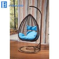 5 годовая гарантия ротанга открытый свинг стул для бассейн мебель