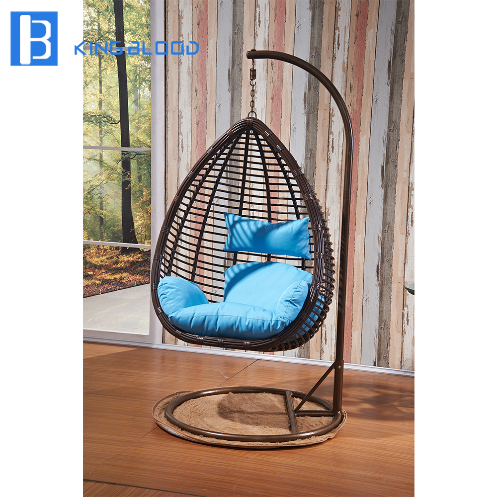 5 Year Warranty Rattan Outdoor Swing Chair For Swimming Pool Furniture