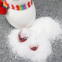 1Pack Hand DIY Artificial Snow Instant Powder Christmas Party Super Absorbant Frozen Home Festival Decor