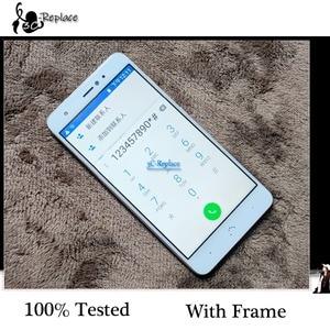 Image 5 - 100% Provato Originale da 5.2 pollici Per BQ Aquaris X/BQ Aquaris X Pro Display LCD + Touch Screen Digitizer montaggio Con Telaio