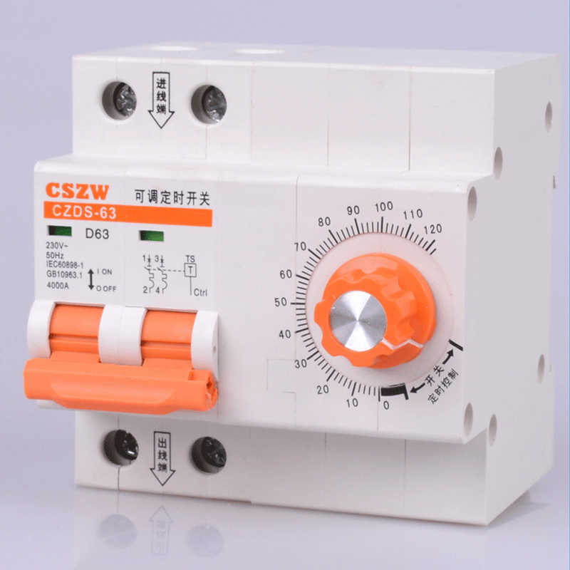circuit break with timing function countdown circuit breaker with time function 0-120 minutes 0-10 hours timer switch