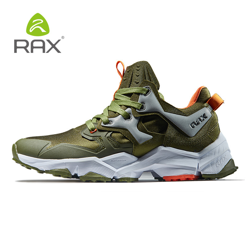 RAX Mens Hiking Shoes Lightweight Montain Shoes Men Antiskid Cushioning Outdoor Sneakers Climbing Shoes Men Breathable Shoes423