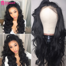 Wigs Human-Hair-Wigs Alipearl-Hair Lace-Front Body-Wave Pre-Plucked Remy Brazilian 180%250%Density