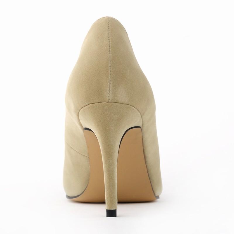 Seemisnahksed kõrge kontsaga kingad