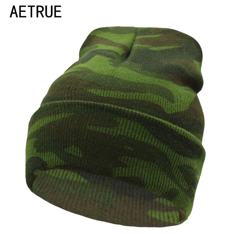 Beanies Winter Hats For Men Bonnet Caps Brand Winter Hat Women Knit Hat Warm New Gorros Touca Camouflage Skullies Beanie 2018