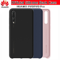 100 Official Original Huawei P20 Pro Case Liquid Silicone Soft Back Cover For HUAWEI P20 Case