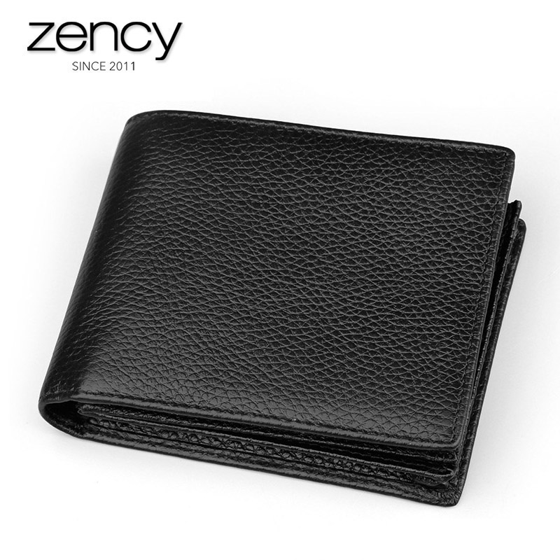 Men Leather Wallets Male Purse Money Credit Card Holder Genuine Coin Pocket Brand Design Money Billfold Maschio Clutch Hot Sale male brief short design wallets credit card holder men purse