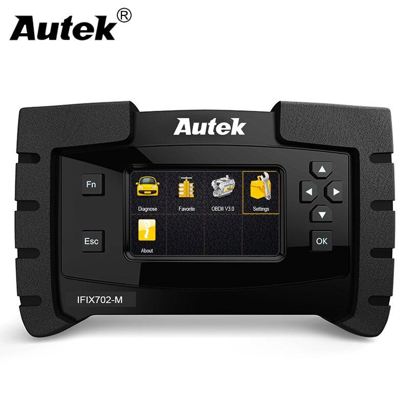 Autek IFIX702-M OBD2 Scanner Pour Mercedes Benz W124 Outil De Diagnostic Moteur ABS SRS Airbag Transmission ODB2 Voiture De Diagnostic