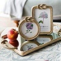 Resin mirror tray wedding cake decoration plate