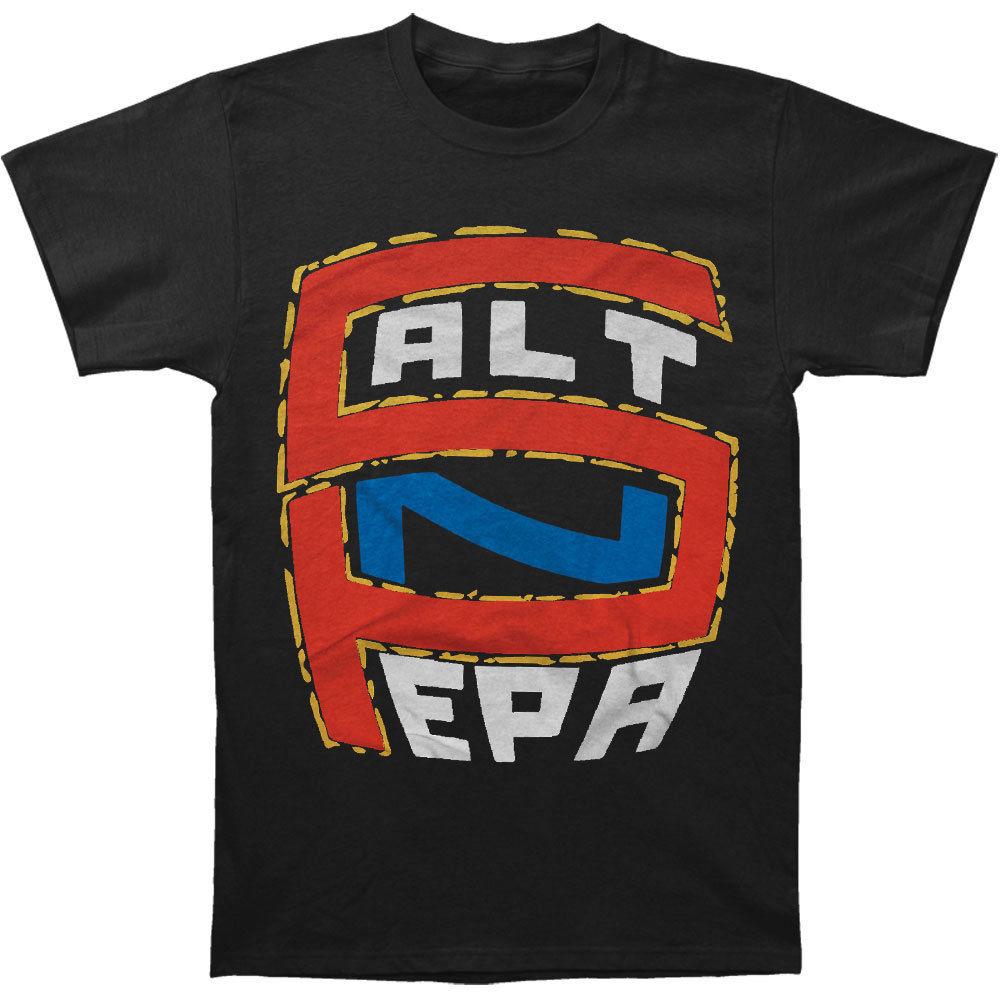 Salt N Pepa MenS S N P Logo T Shirt Black