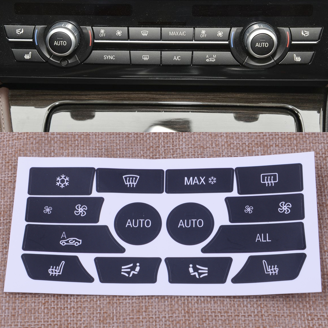 Good quality and cheap ac sticker in Store Xprice