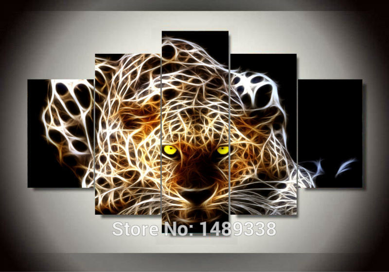 Leopard Wall Decor popular leopard wall art-buy cheap leopard wall art lots from