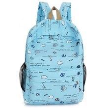 Cute children's bag cartoon print girl backpack fashion new portable travel shou