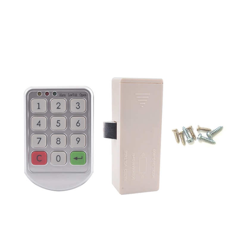 Keyless Electronic Code Digital Password Keypad Security Cabinet Smart Door Lock --M25 keyless digital lock keypad password code spring bolt access electronic door locks l