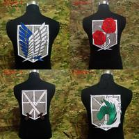 Attack On Titan Stationed Corps Big Back Of The Body Patch Military Police Training Stationed Investigation