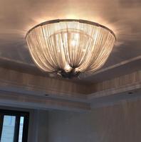 Алюминиевый дизайнер круг алюминиевые потолочные светильники air роскошь творческая личность гостиная ужин лампы FG849