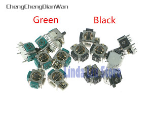 50pcs/lot OEM 3D Analog Joystick Sensor Module Potentiometer Replacement for XBOX 360/ PS2 Controller Repair(China)