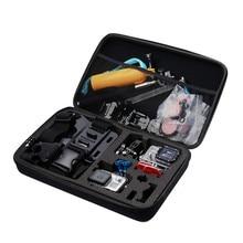 Portable Large Size Waterproof Travel Storage Case for GoPro Hero Action Camera Eva Hard Bag Box for XiaomiYi Camera Accessory